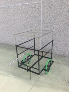 cargo bike bici rimorchietto