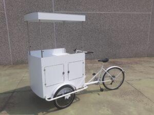 cargo bike nordik vino street food