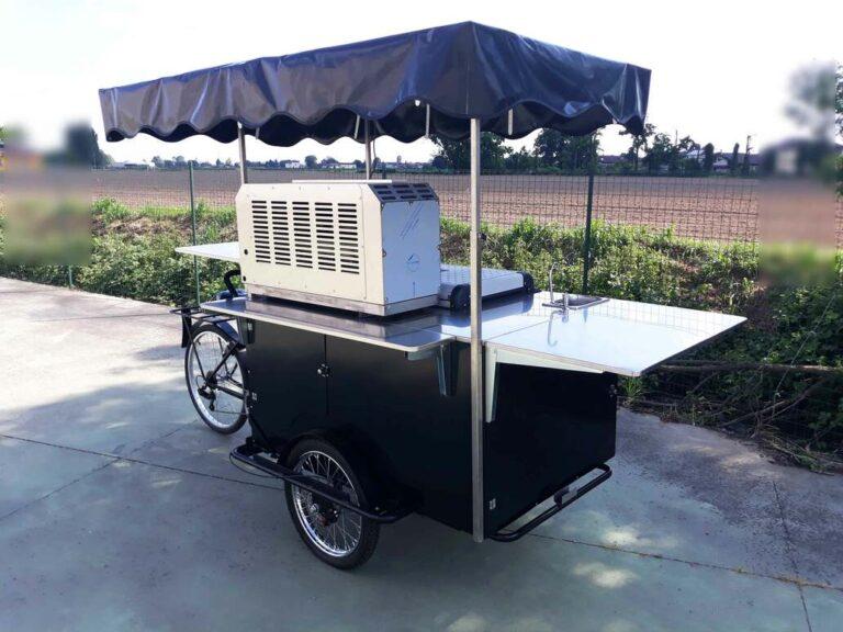 triciclo cargo bike nordik rosticceria street food