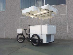 triciclo cargo bike roma gelati street food